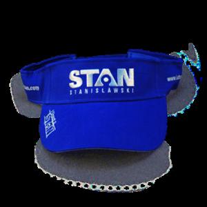 STAN blue visor