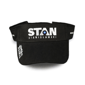 Stan black visor